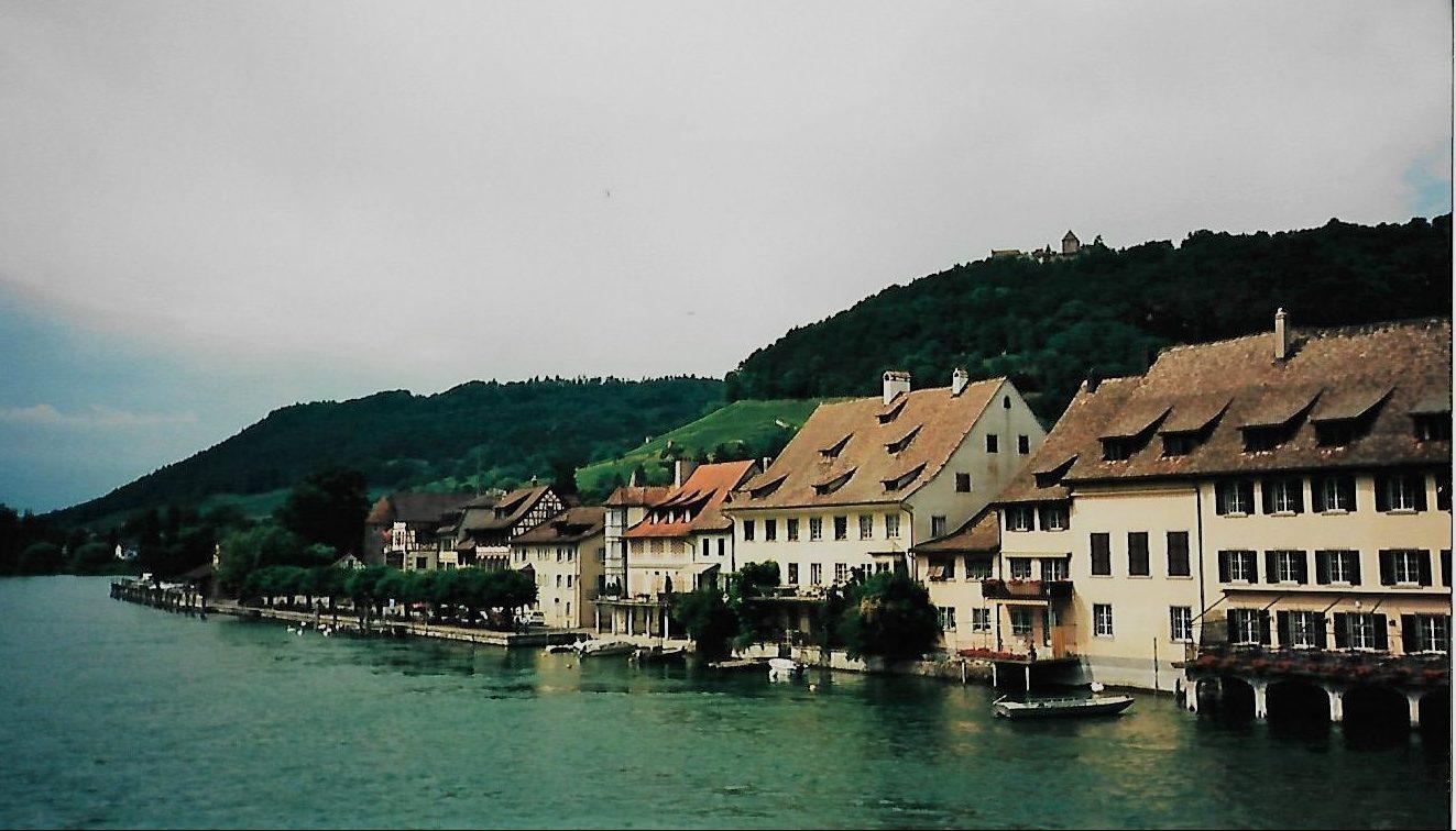 Der Hochrhein bei Stein