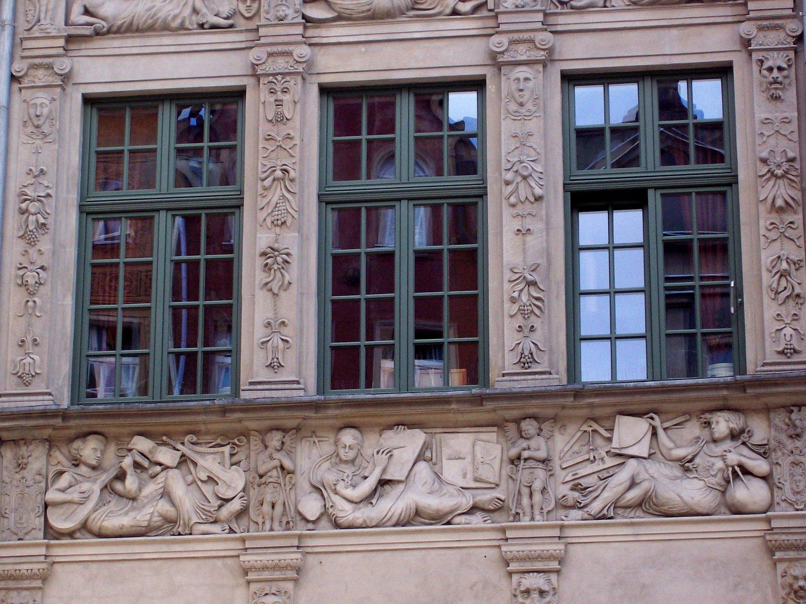 Bürgerhaus in der Langen Gasse von Danzig
