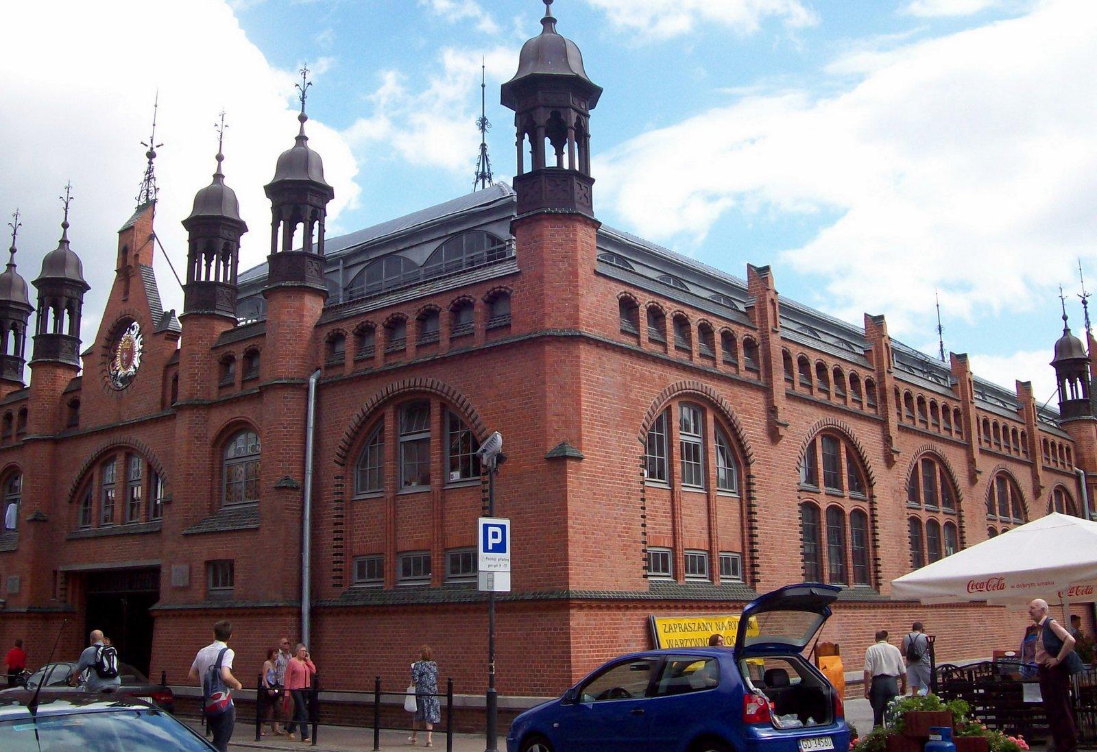 Markthalle von Danzig