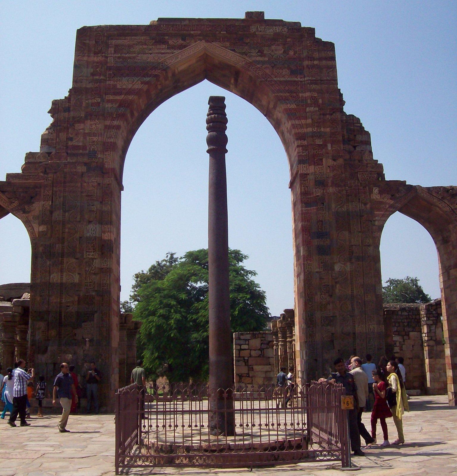 Eisensäule in New Delhi