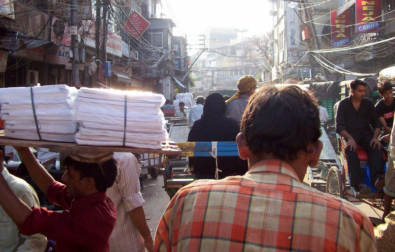 Chawri Bazar Road - Old Delhi