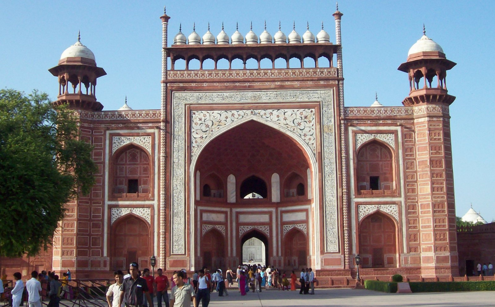 Großes Tor - Taj Mahal
