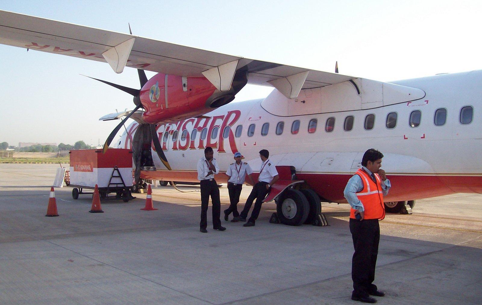 ATR 72 von Kingfisher