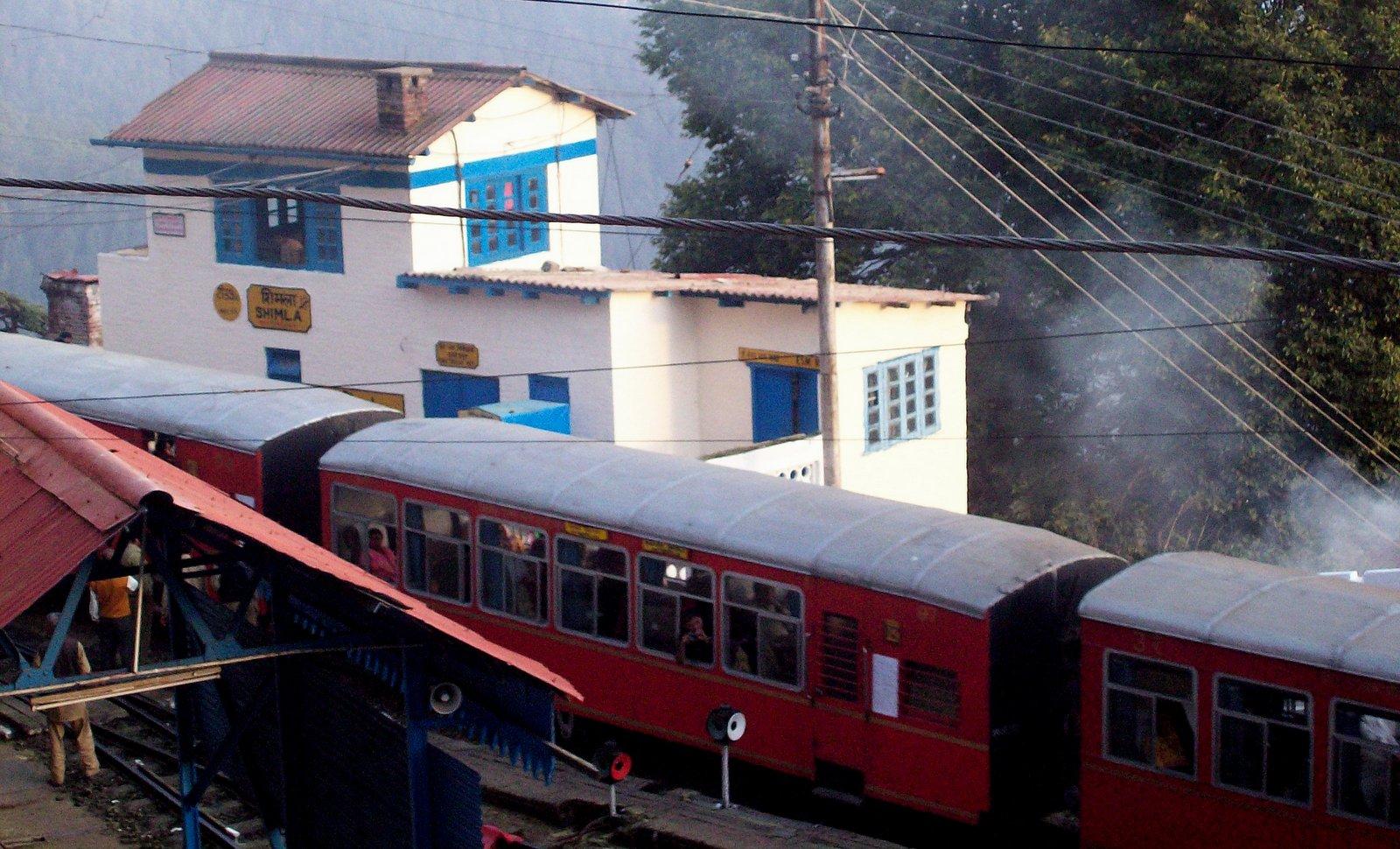Bahnhof Shimla im Himalaya-Vorgebirge