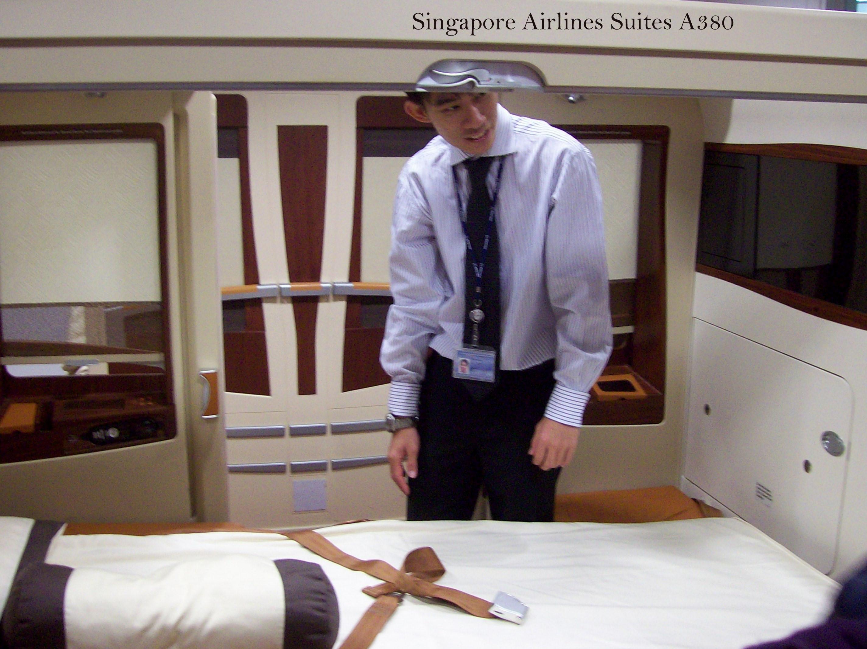 Singapore Airlines A 380 Suiten
