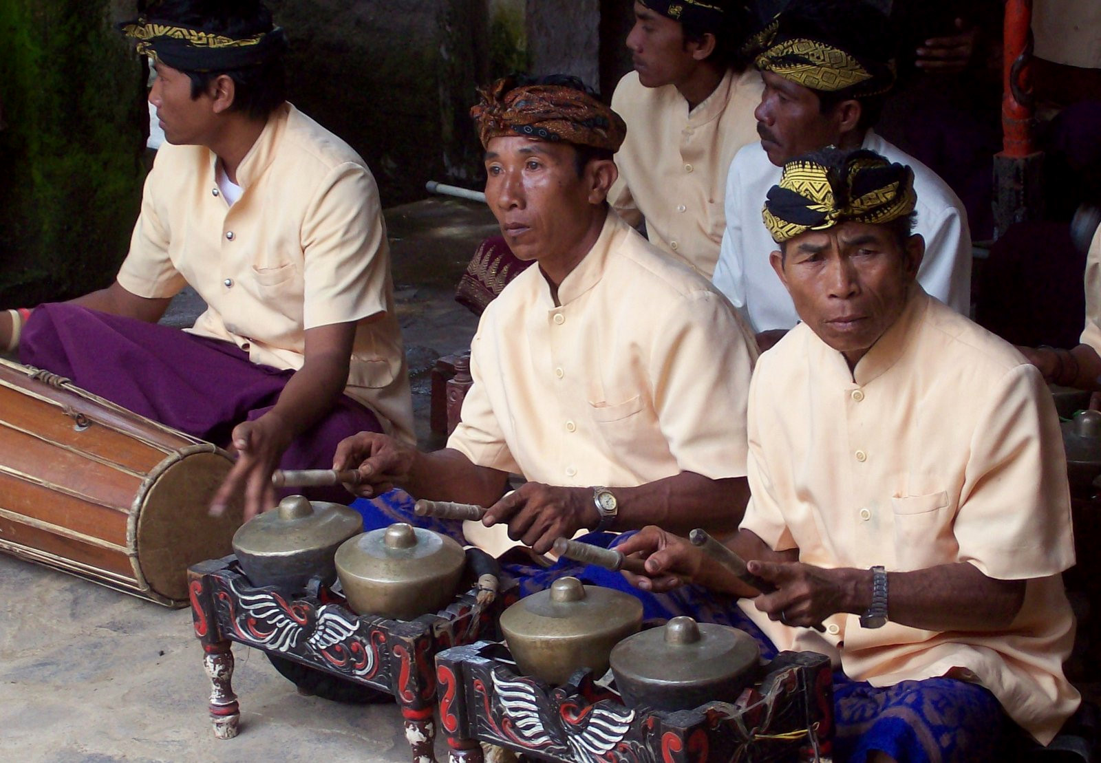 Gamelan Orchester der Sasak - Lombok