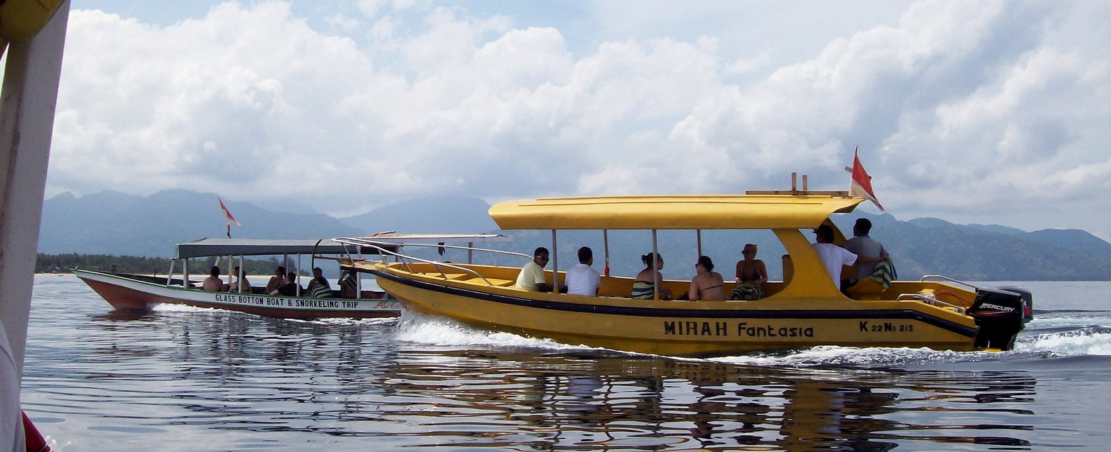 Boot Senggigi Beach - Gili Trawagan