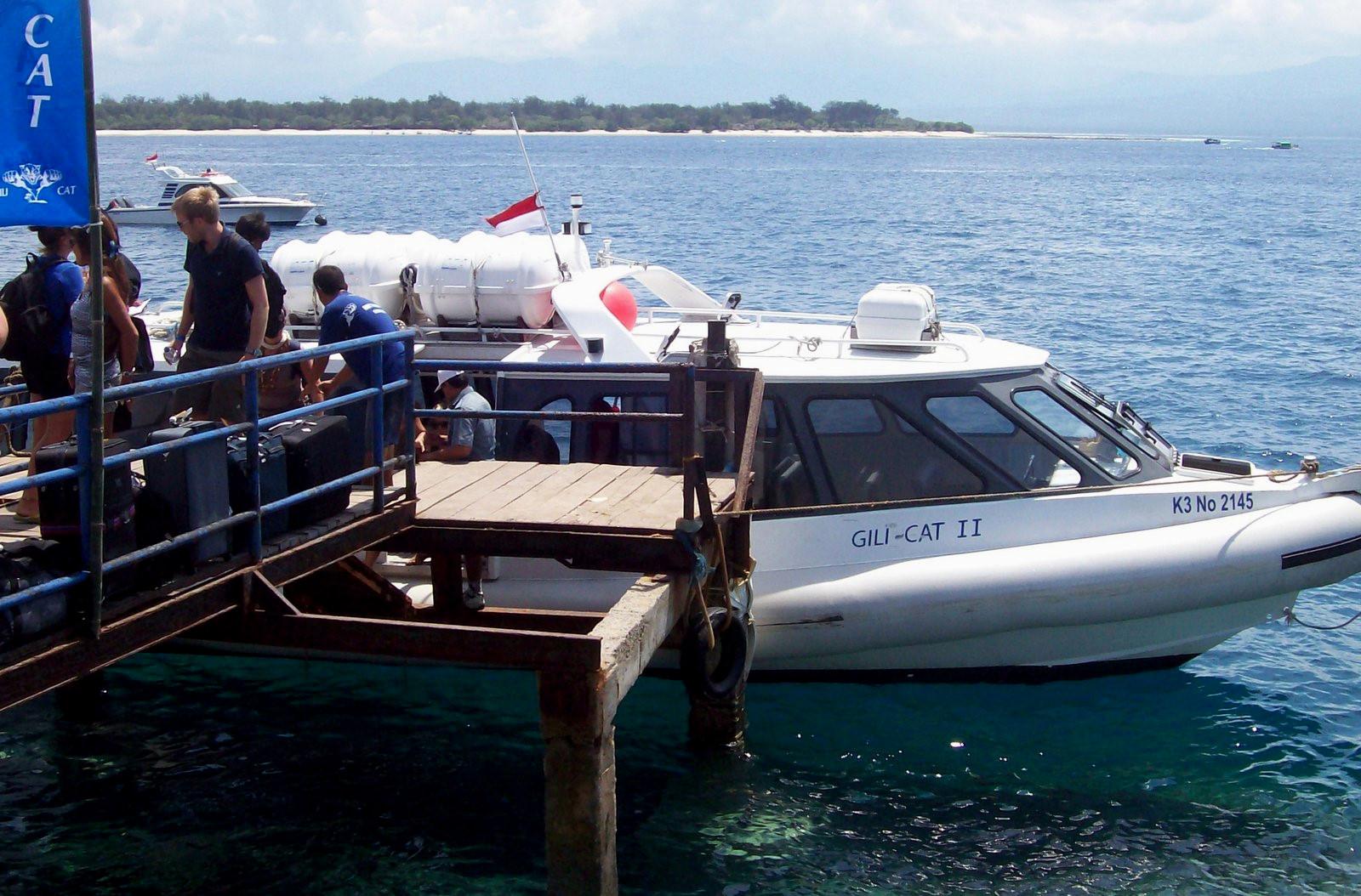 Schnellboot Gili - Bali