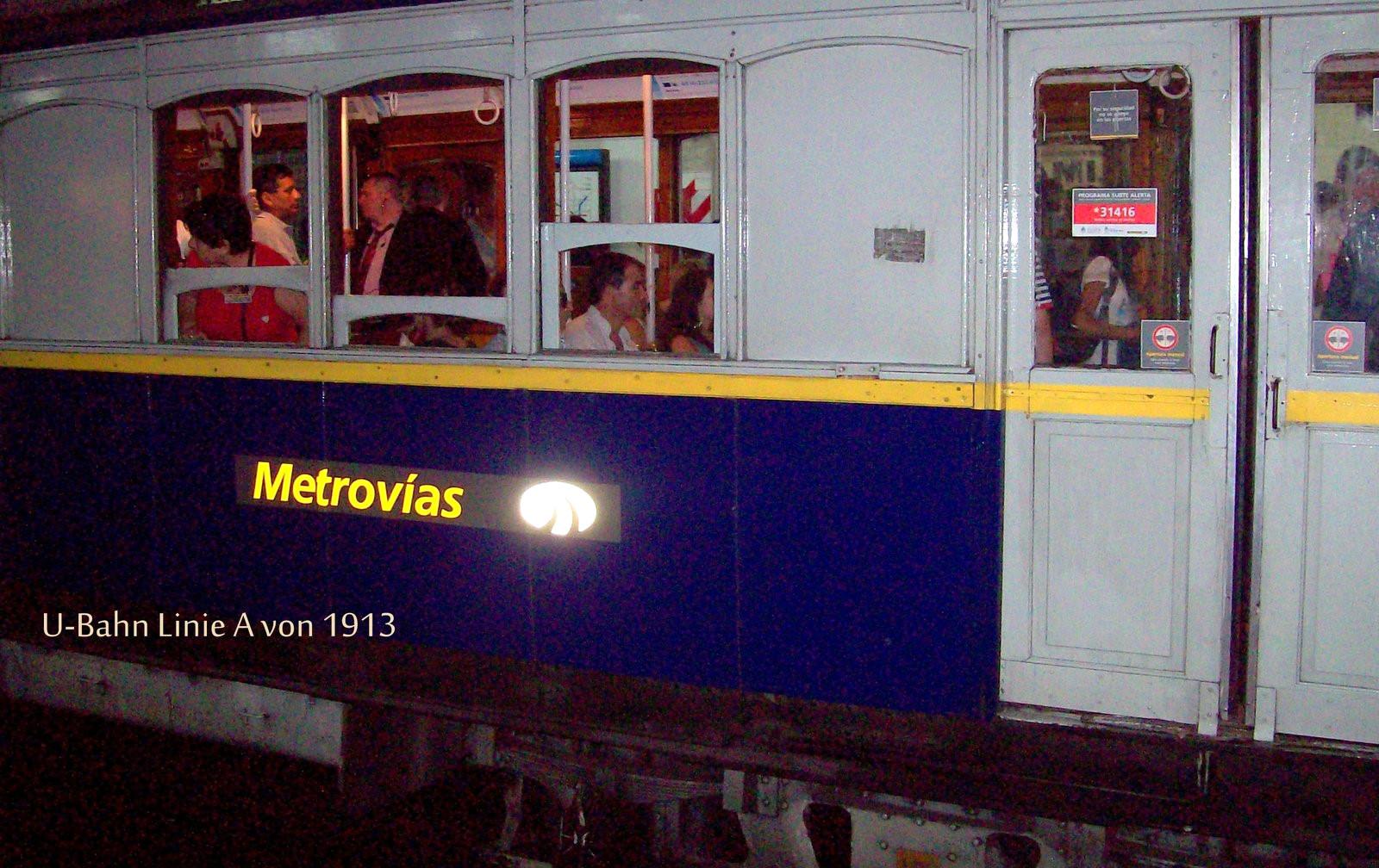 U-Bahn Linie A - Buenos Aires