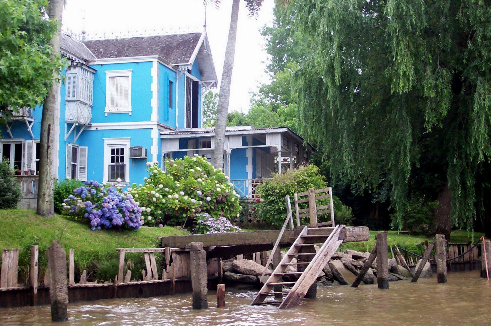 Villa im Paraná-Delta