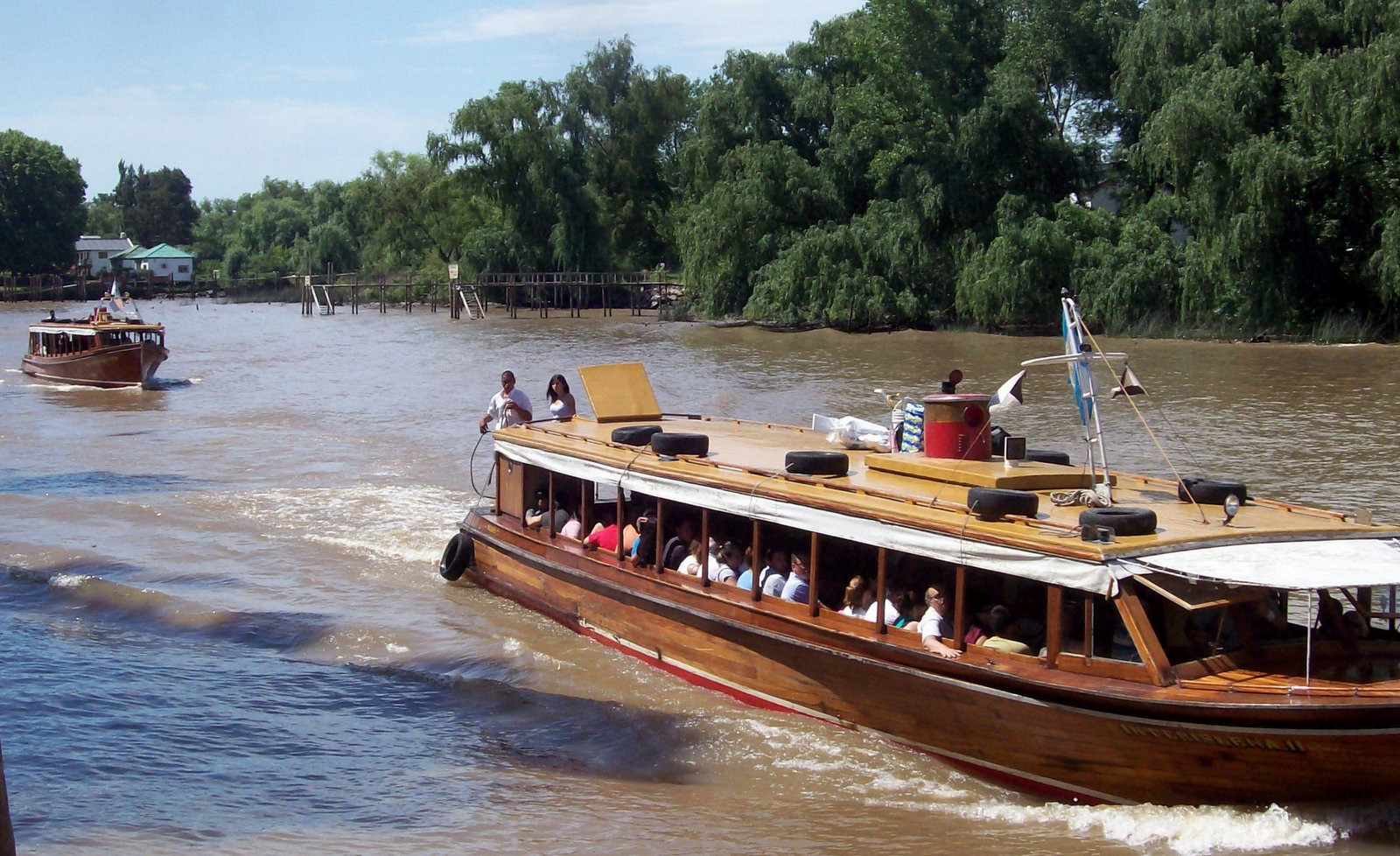Rundfahrt im Paraná-Delta
