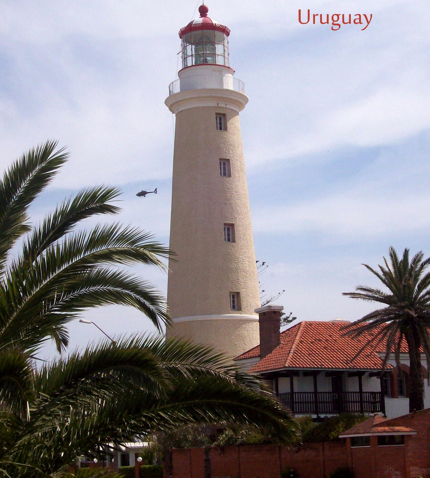 Leuchtturm von Punta del Este am Rio de la Plata
