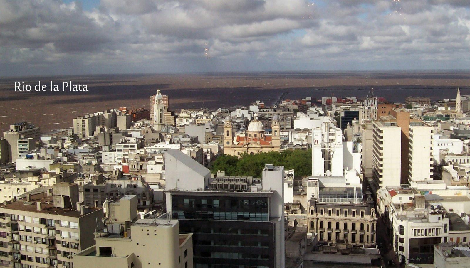 Montevideo am Rio de la Plata