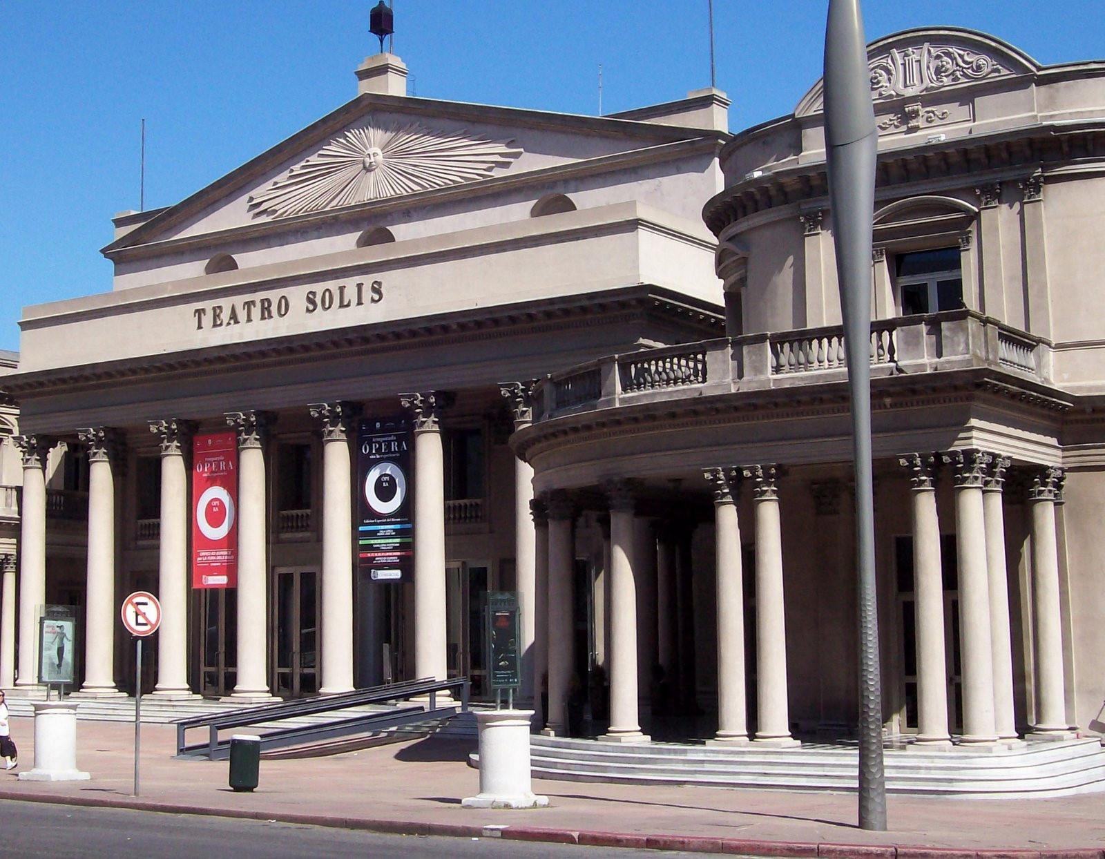 Teatro Solis am Rio de la Plata