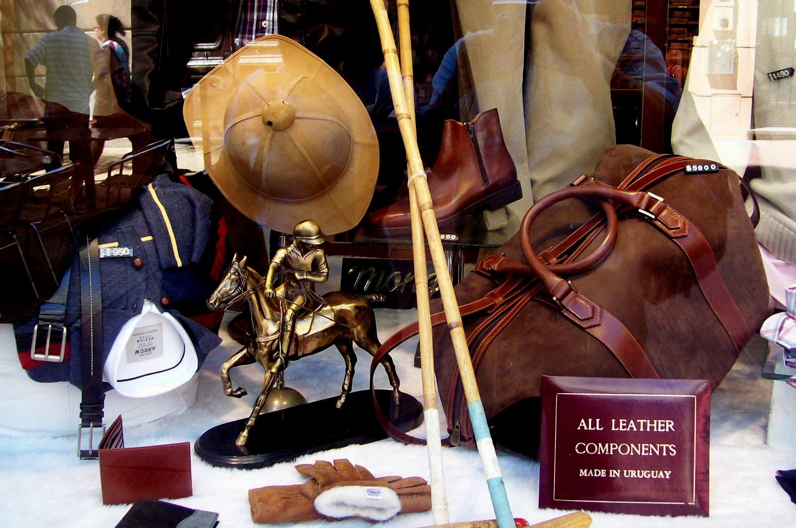 Geschäft für Polobedarf in Montevideo