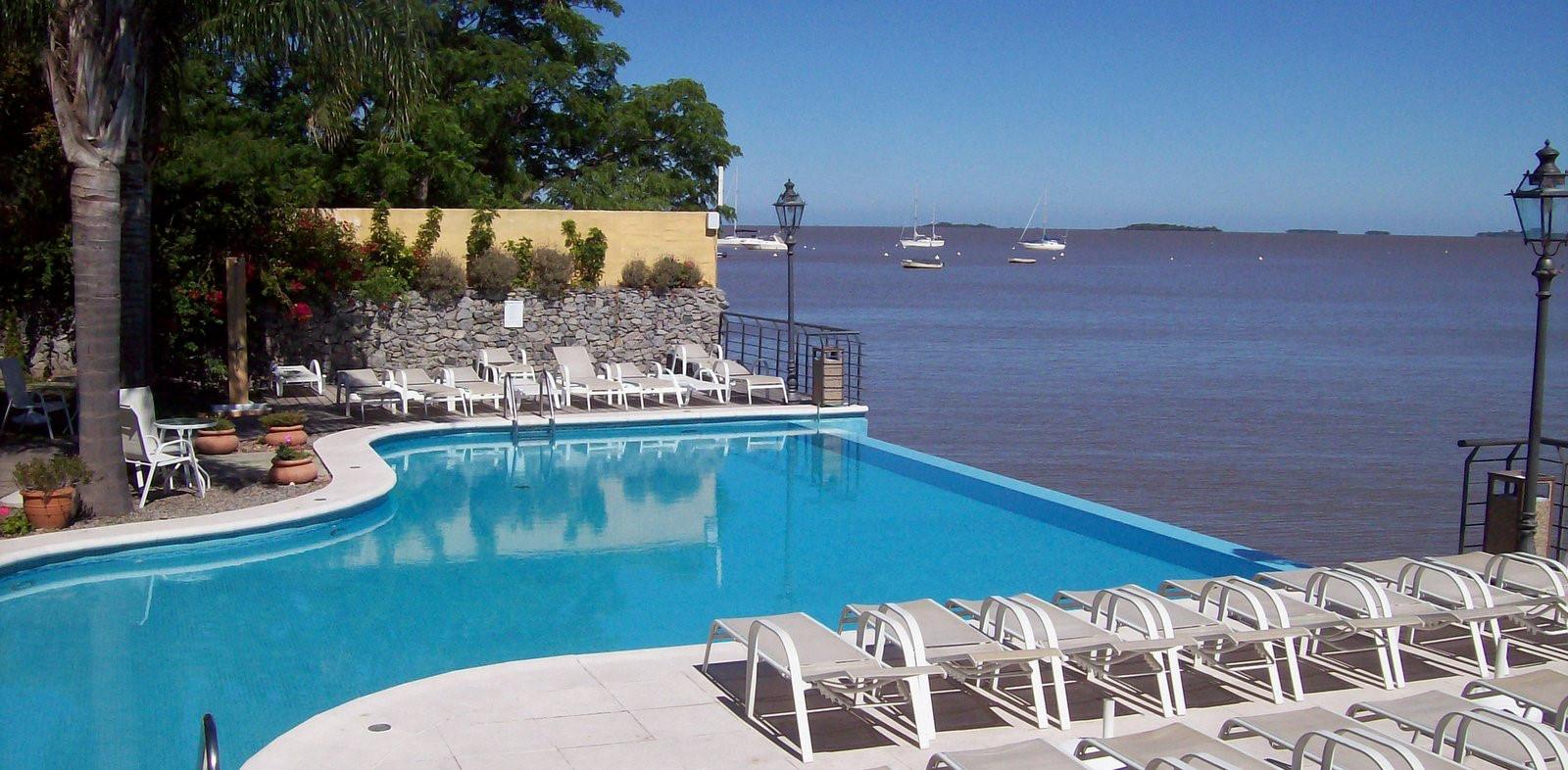 Hotel Radisson Blu in Colonia del Sacramento direkt am Rio de la Plata