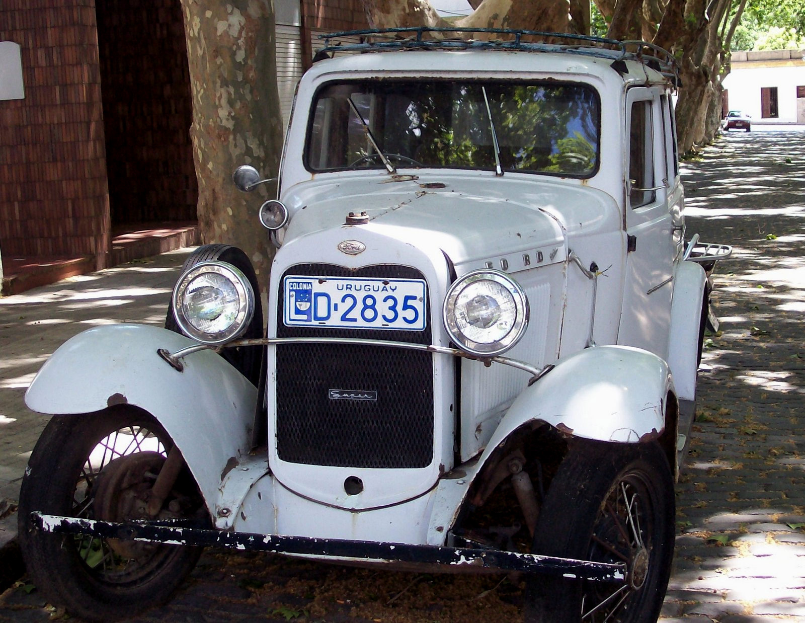 Ford Oldtimer in Colonia del Sacramento
