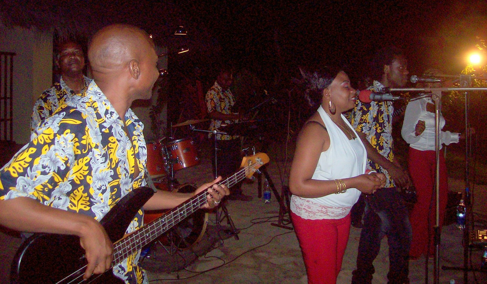 Coconut Band mit Mama Africa - Spice Island Resort