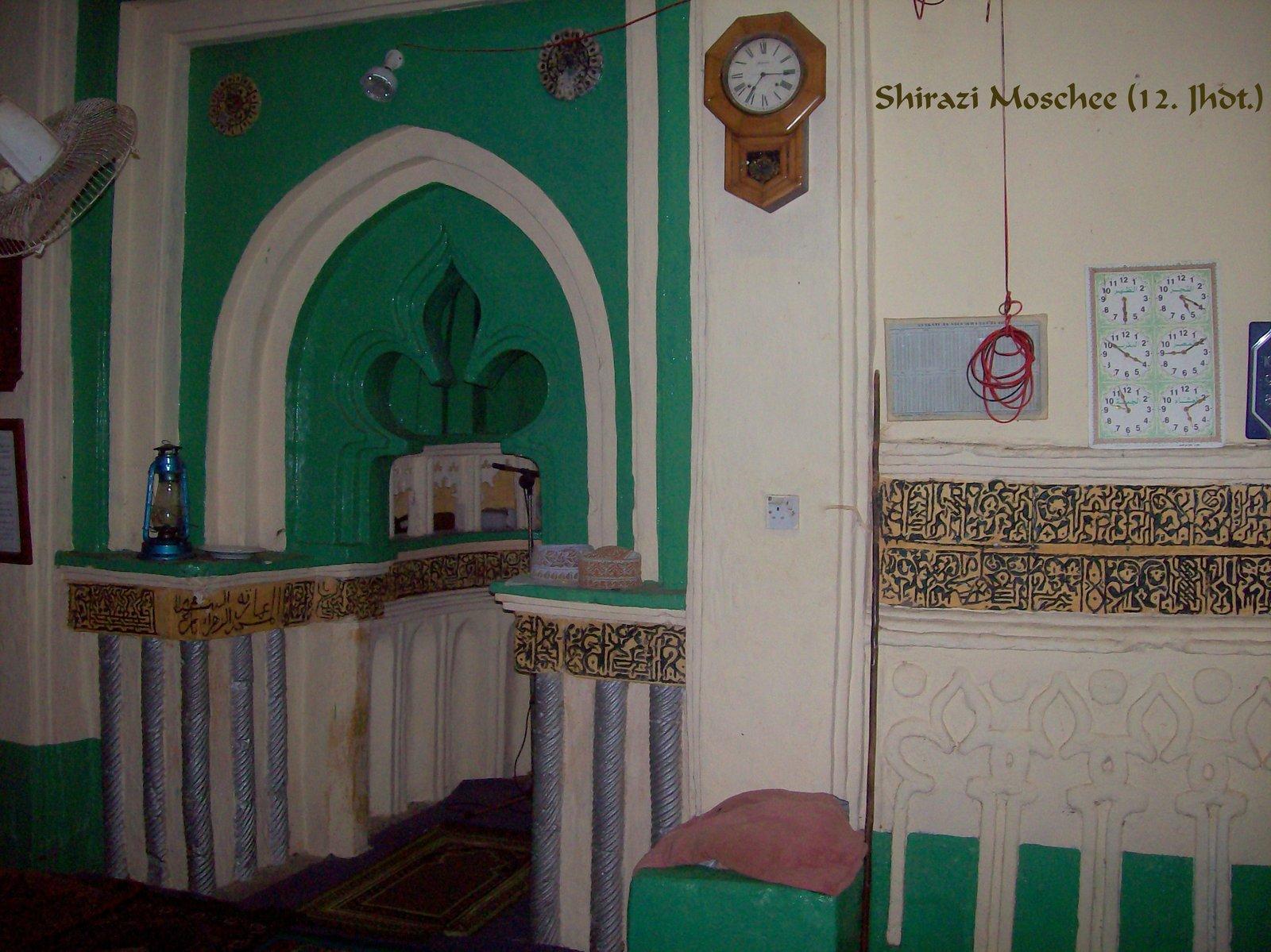 Shirazi Moschee - Kizimkazi