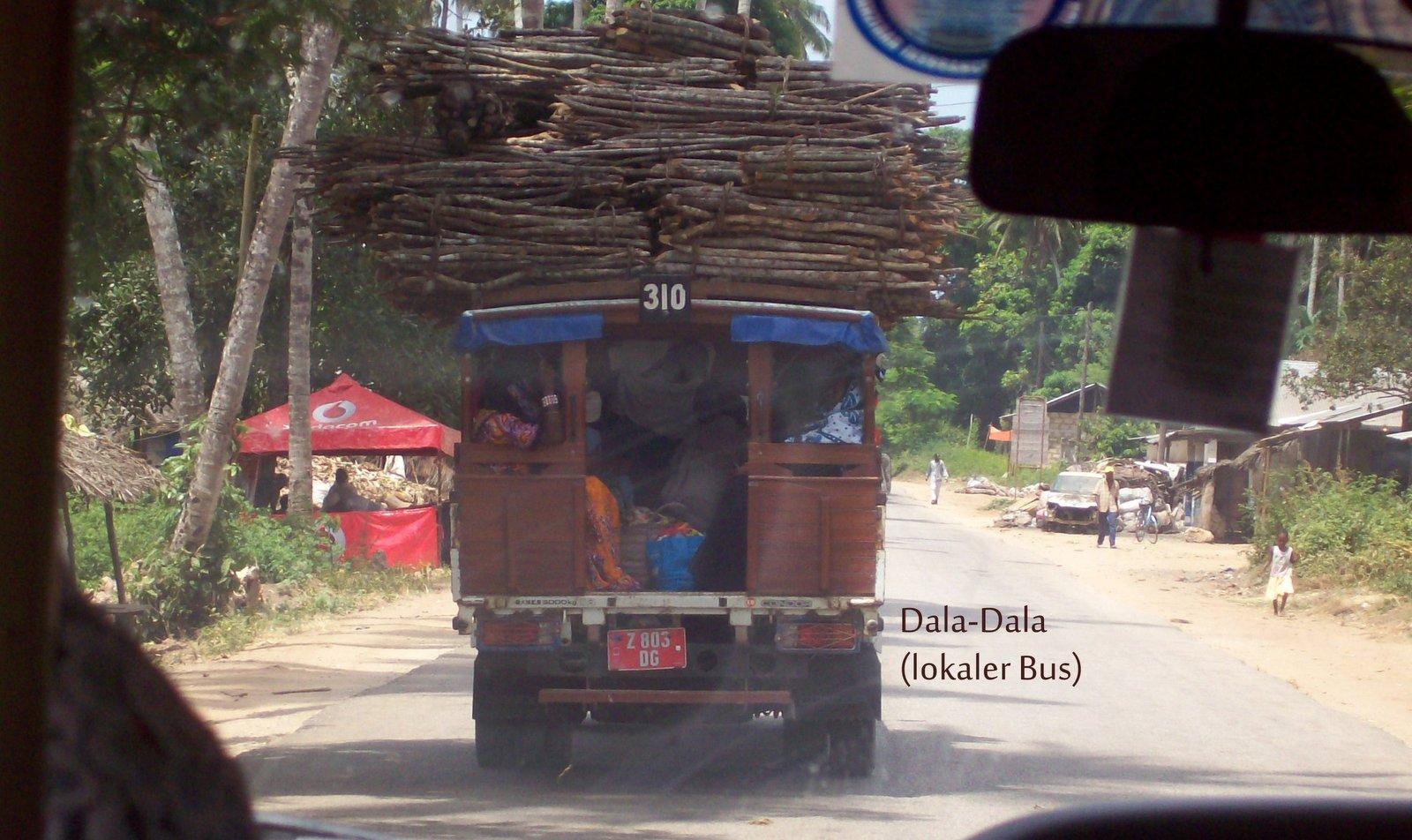 Dala Dala auf Sansibar
