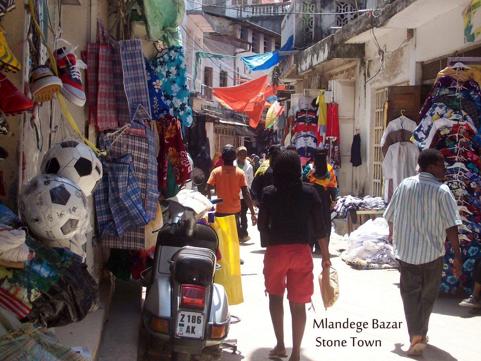 Mlandege Bazar - Stone Town