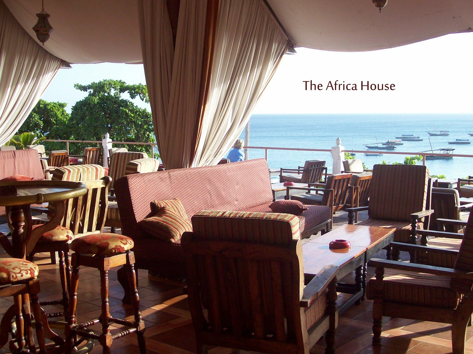 The Africa House in Stone Town