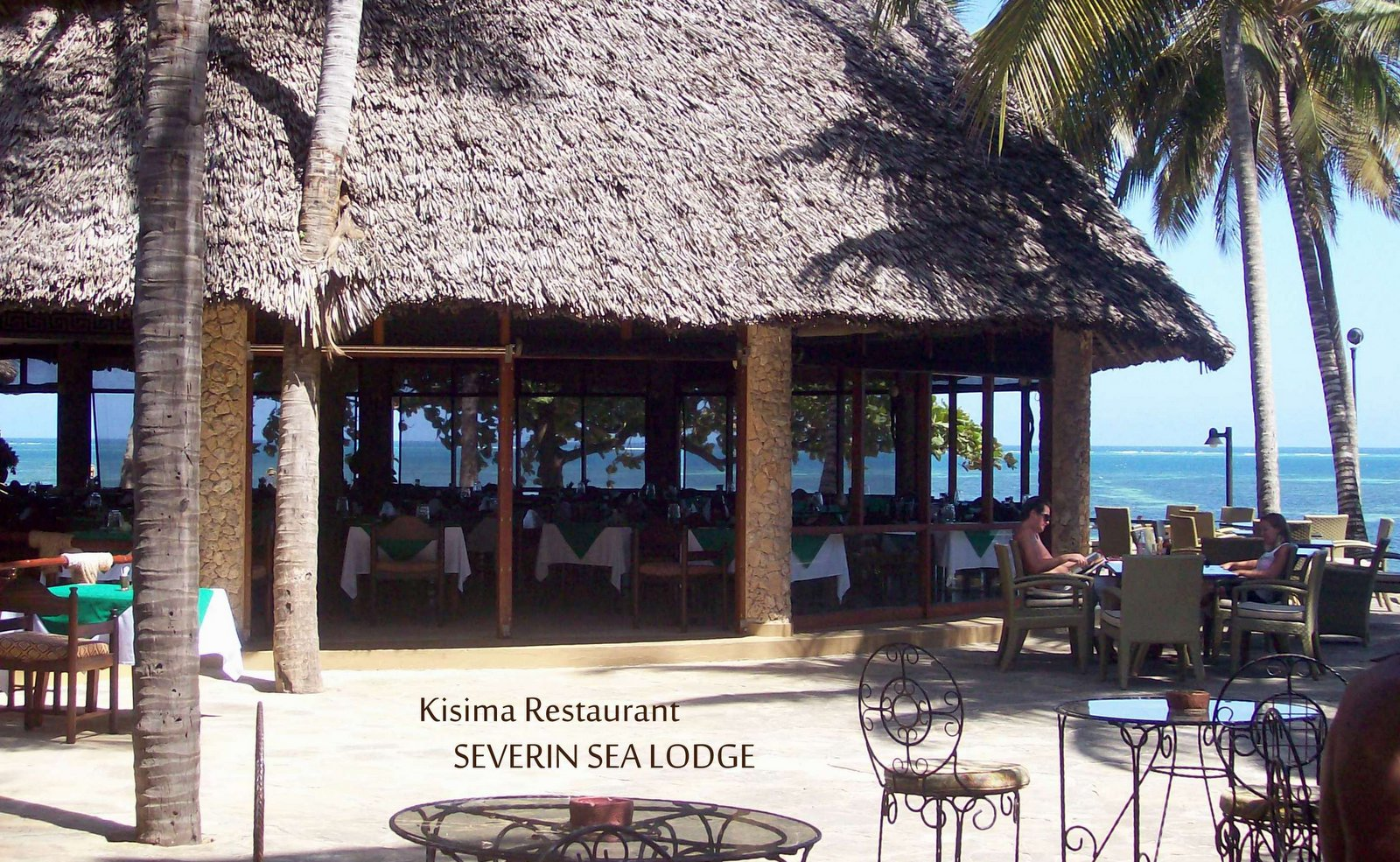 Kisima Restaurant Severin Sea Lodge Mombasa