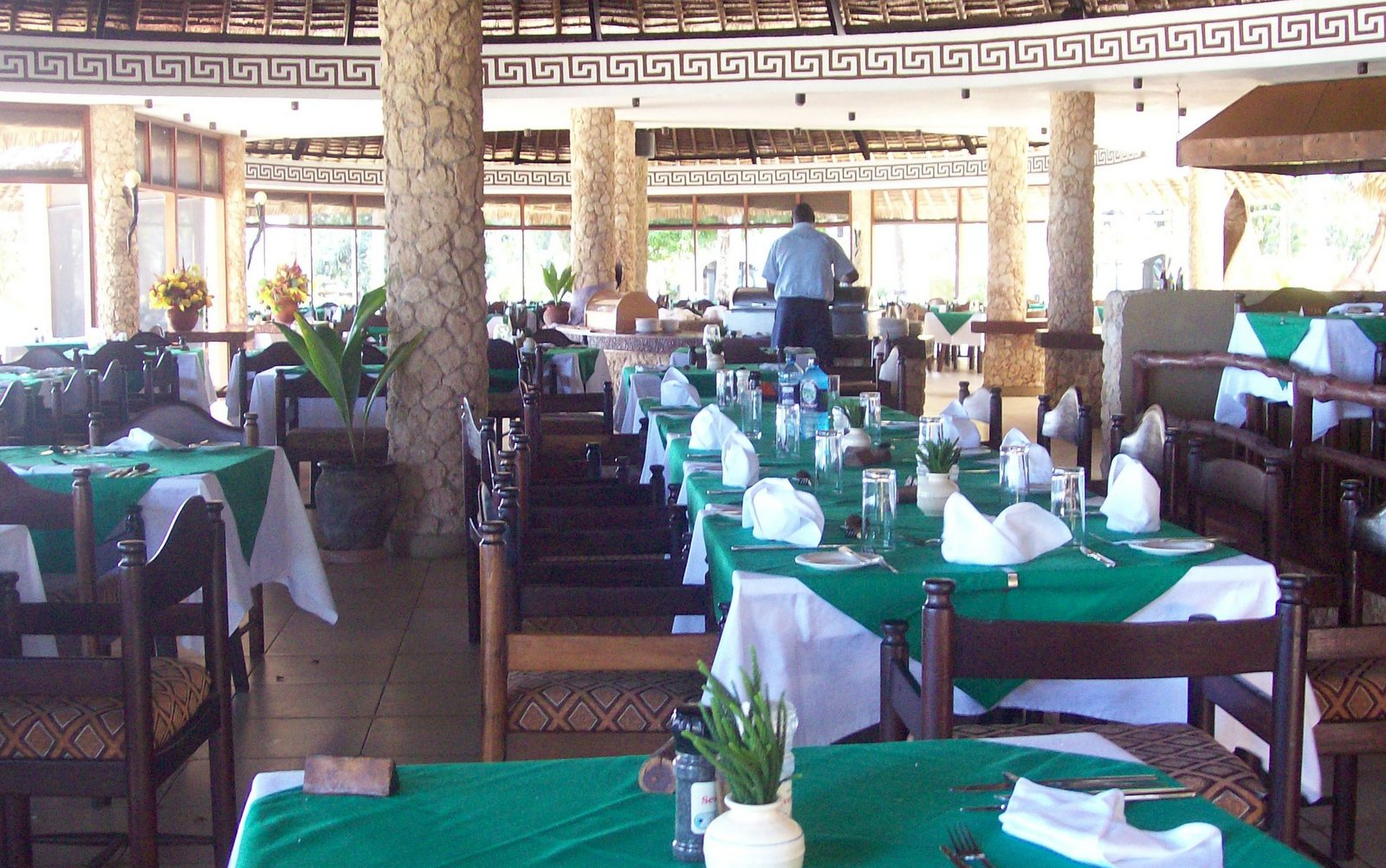 Kisima Restaurant der Severin Sea Lodge
