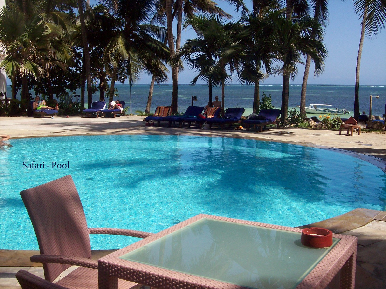 Safari Pool - Severin Sea Lodge Mombasa