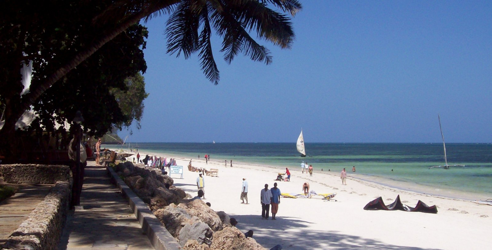 Bamburi Beach Mombasa