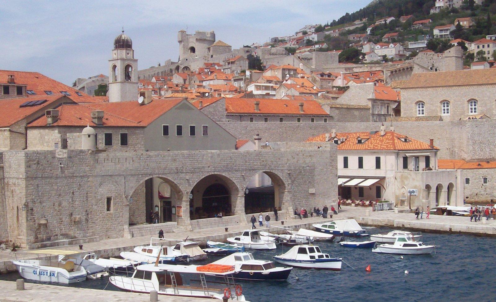 Dubrovnik Alter Hafen - Dalmatien