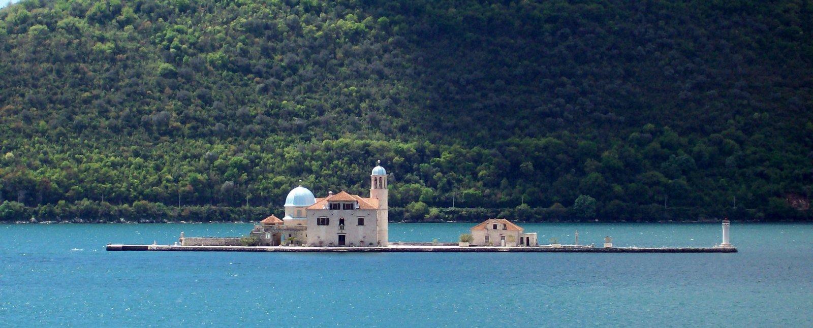 St. Marien auf dem Felsen - Bucht von Kotor - Montenegro