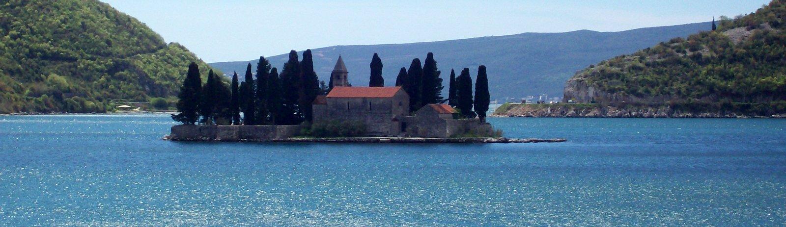 Insel des Heiligen Georg - Bucht von Kotor in Montenegro