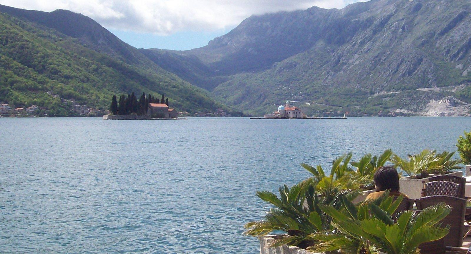 Kirche des Heiligen Georg und St. Marien auf dem Felsen - Bucht von Kotor
