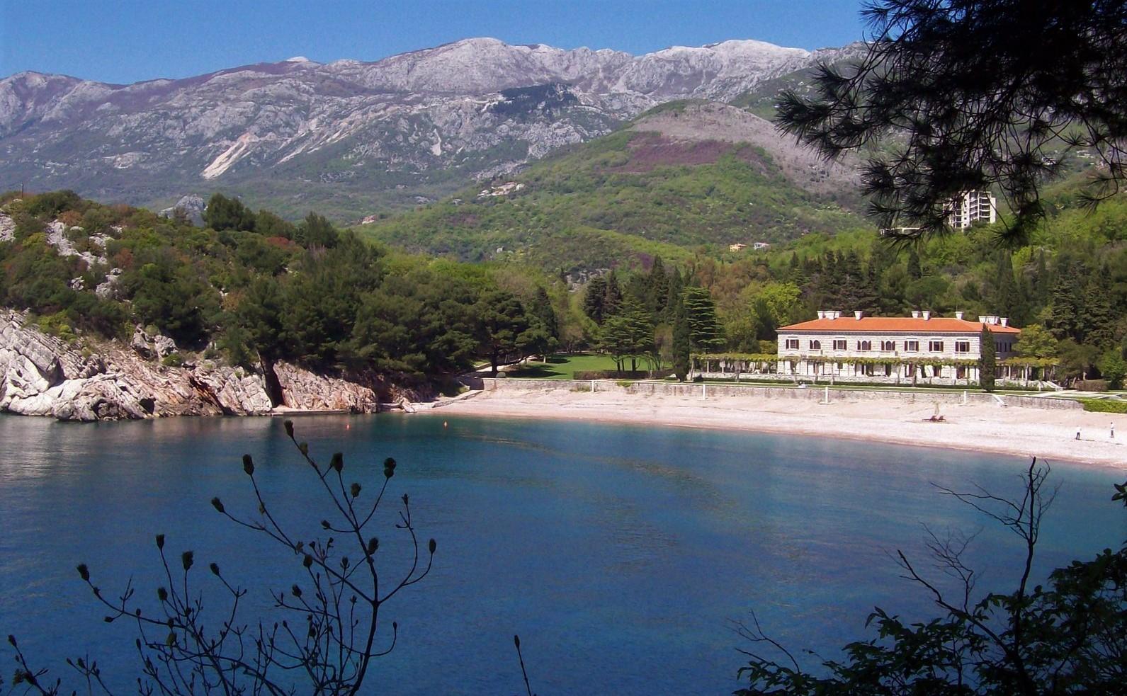 Sommerresidenz der jugoslawischen Königin Marija Karadjordjevic - Montenegro