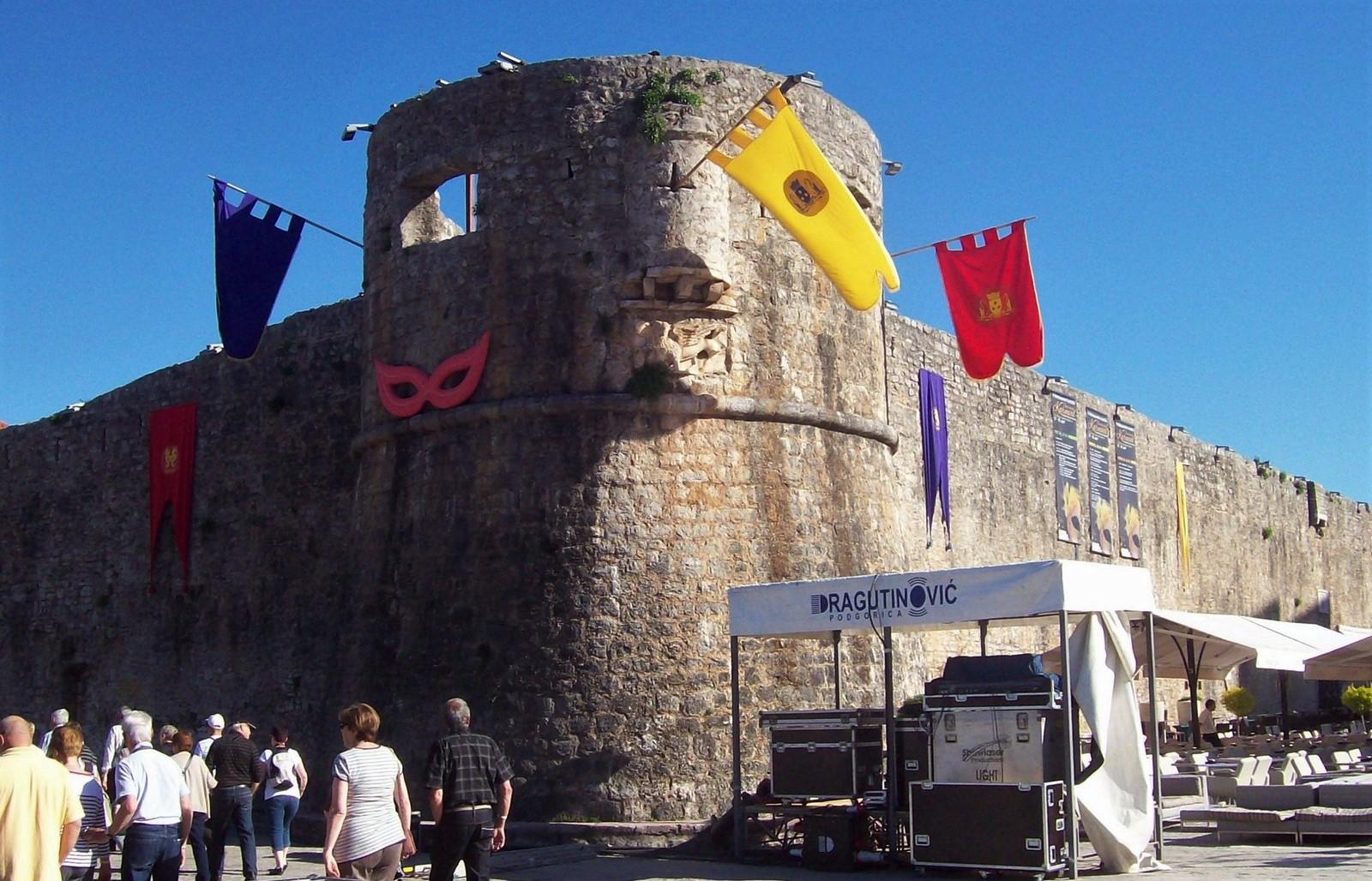 Budva - Stadtmauer