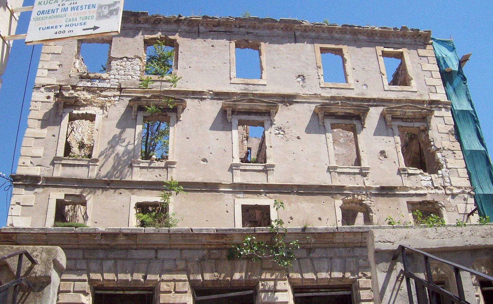 Folgen des Bürgerkriegs in Mostar
