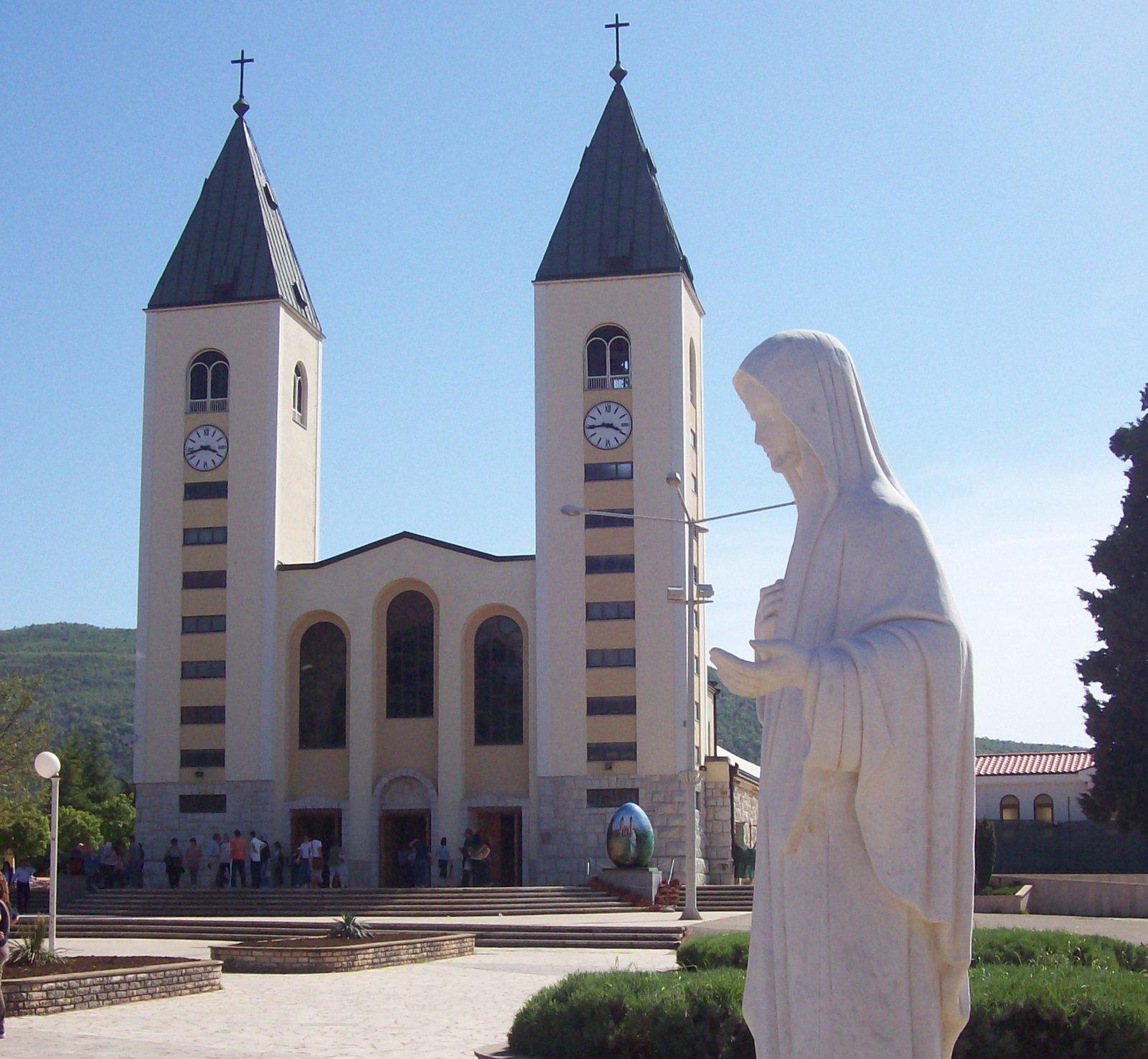 Wallfahrtskirche in Medjugorje - Herzegowina