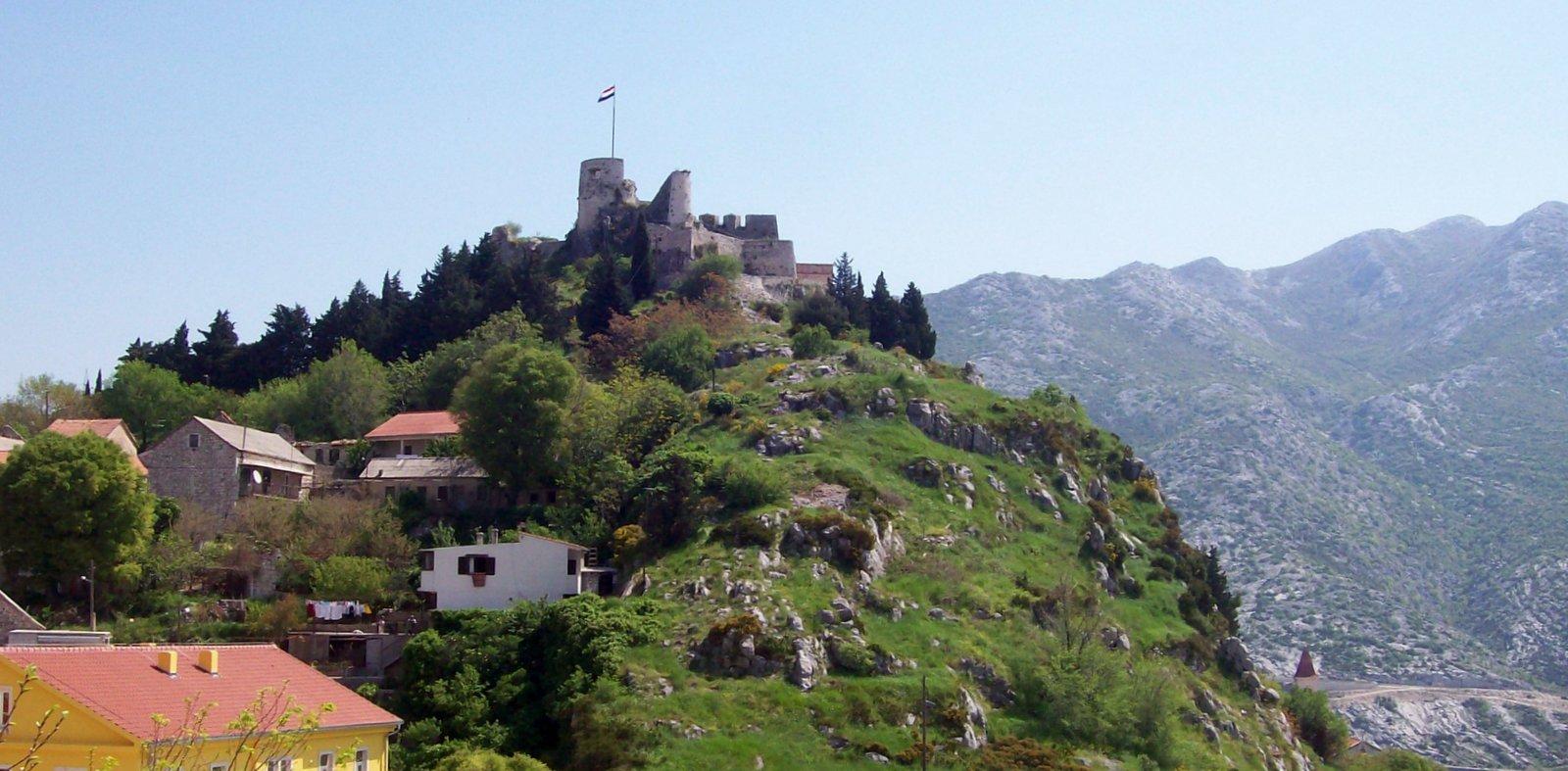 Festung Klis Dalmatien