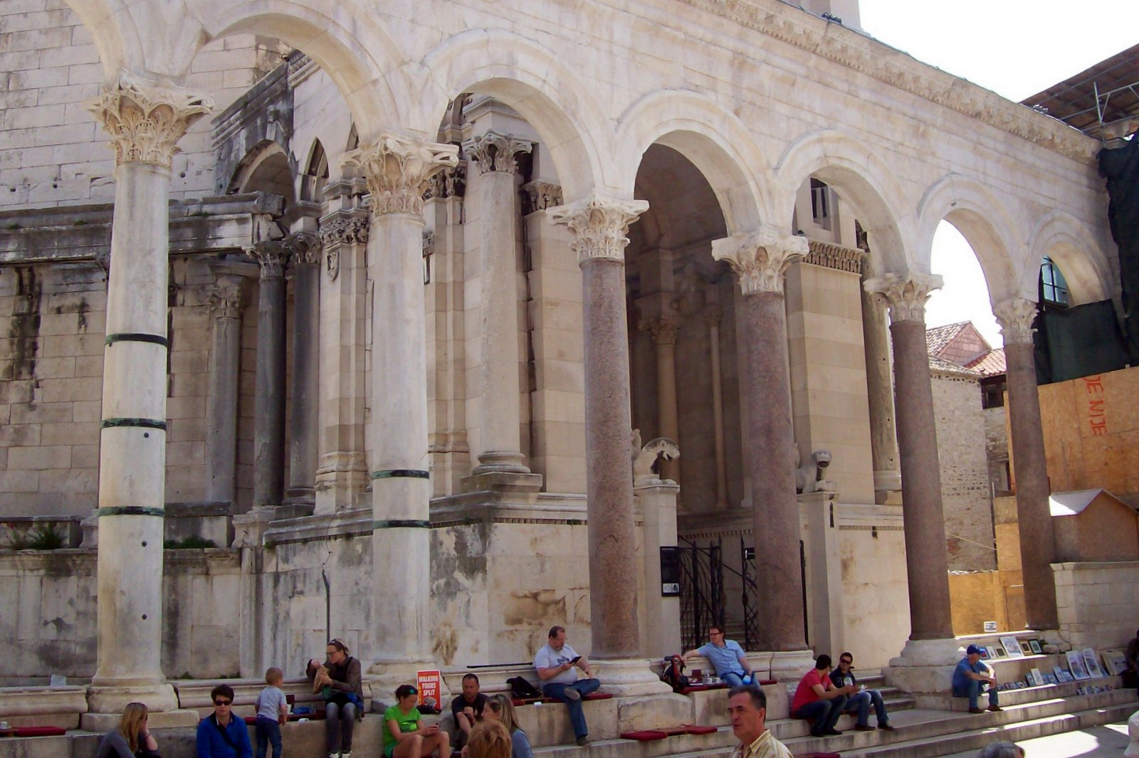 Diokletianpalast Split Dalmatien