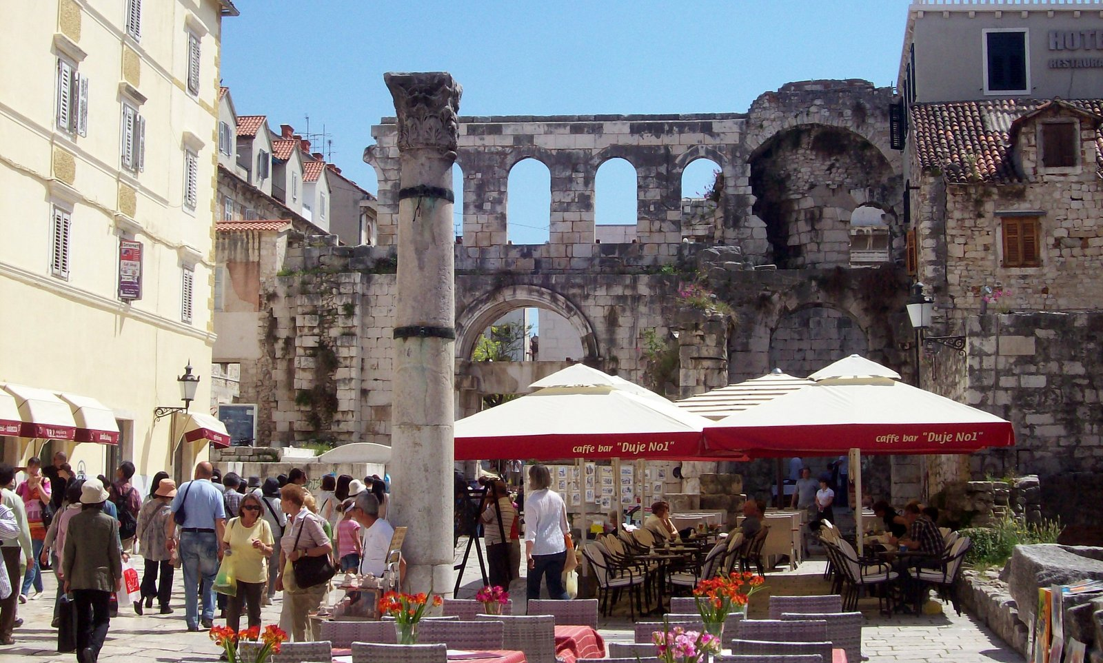 Split Diokletianpalast Dalmatien