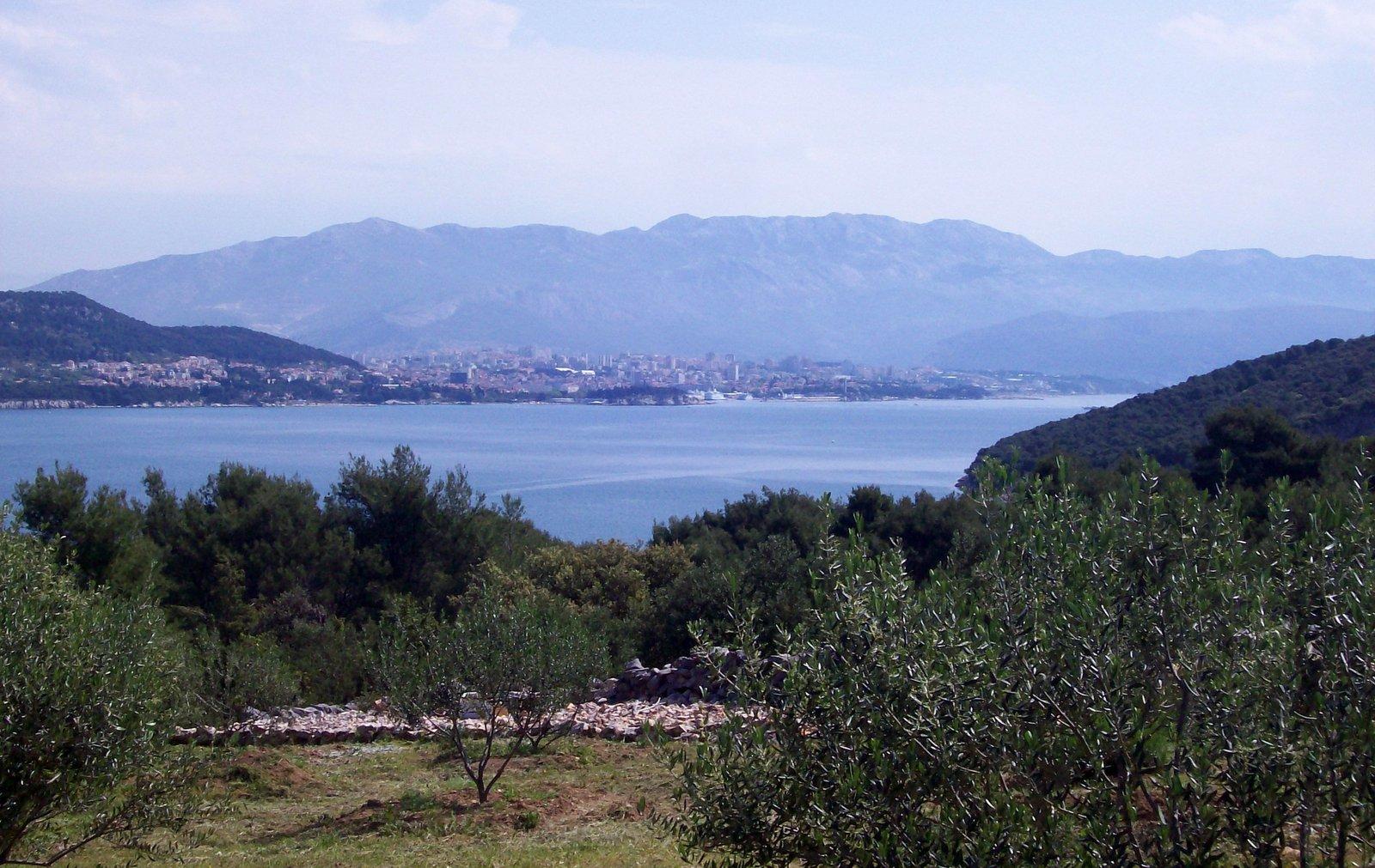 Blick auf Split - Dalmatien