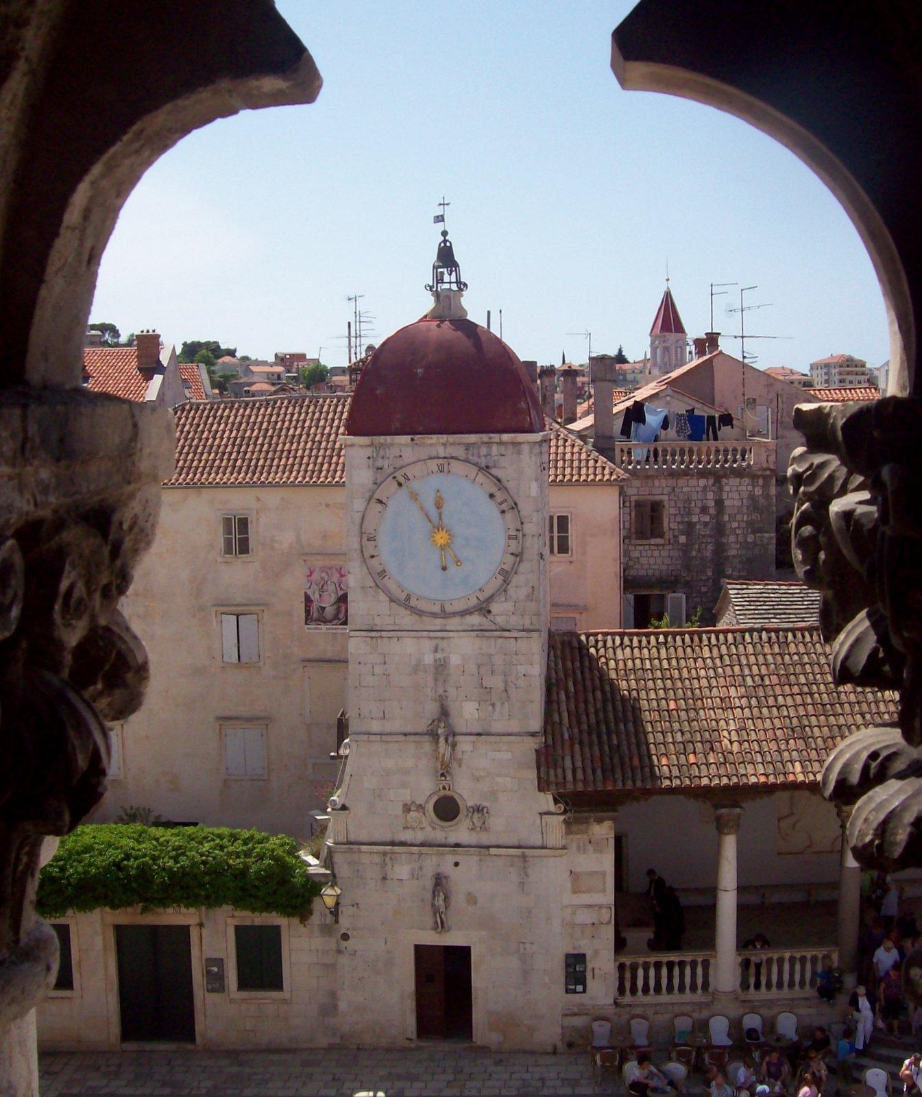 Uhrturm von Trogir - Dalmatien