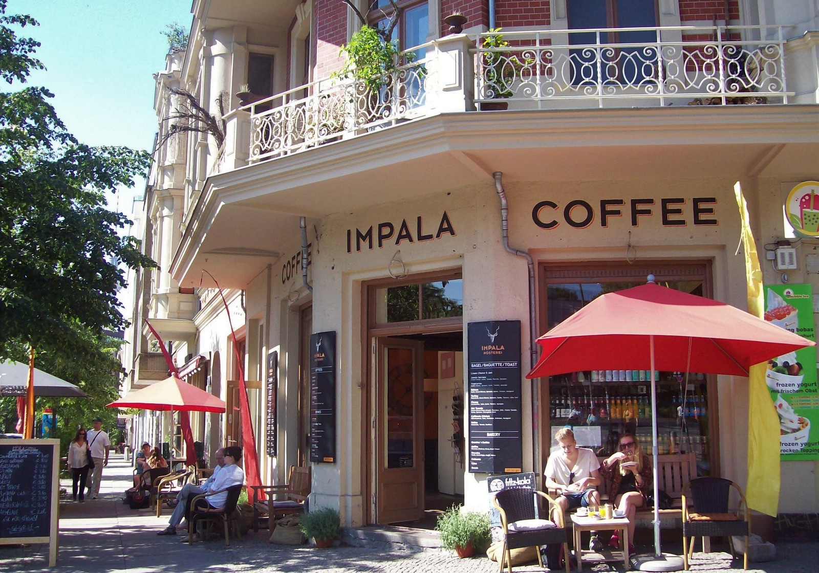 Impala Coffee am Prenzlauer Berg in Berlin