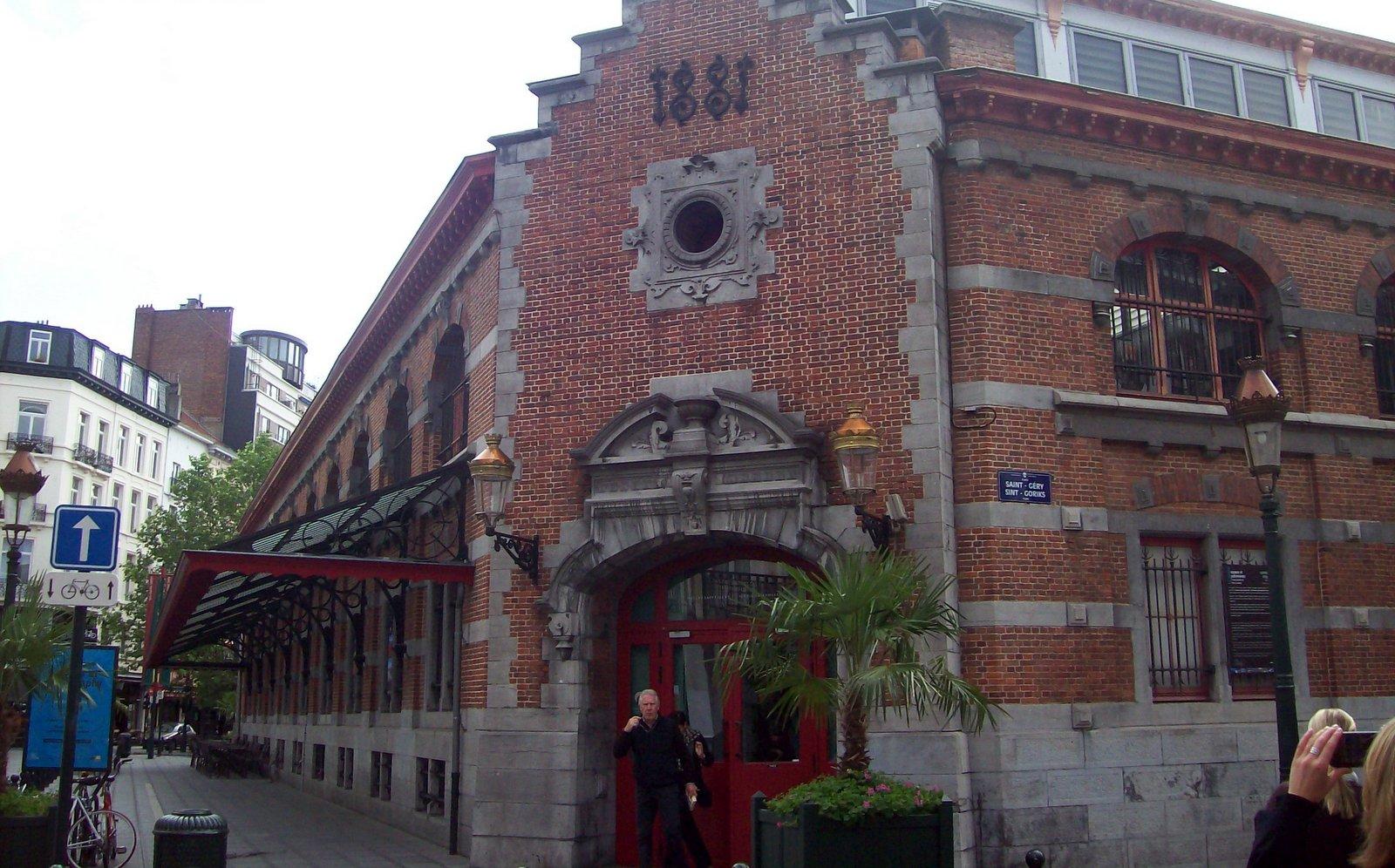 Alte Markthalle Brüssel