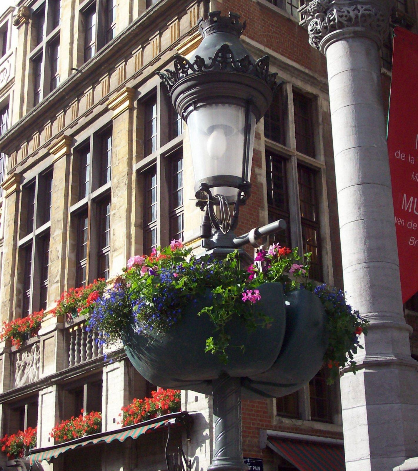 Am Großen Markt in Brüssel