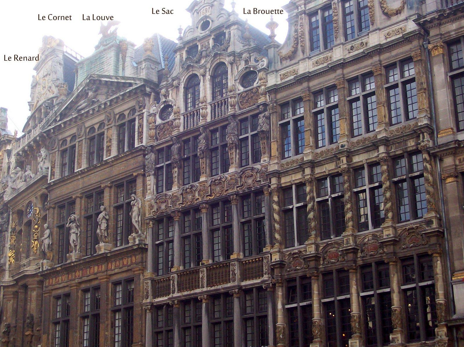 Großer Markt Nordseite Brüssel