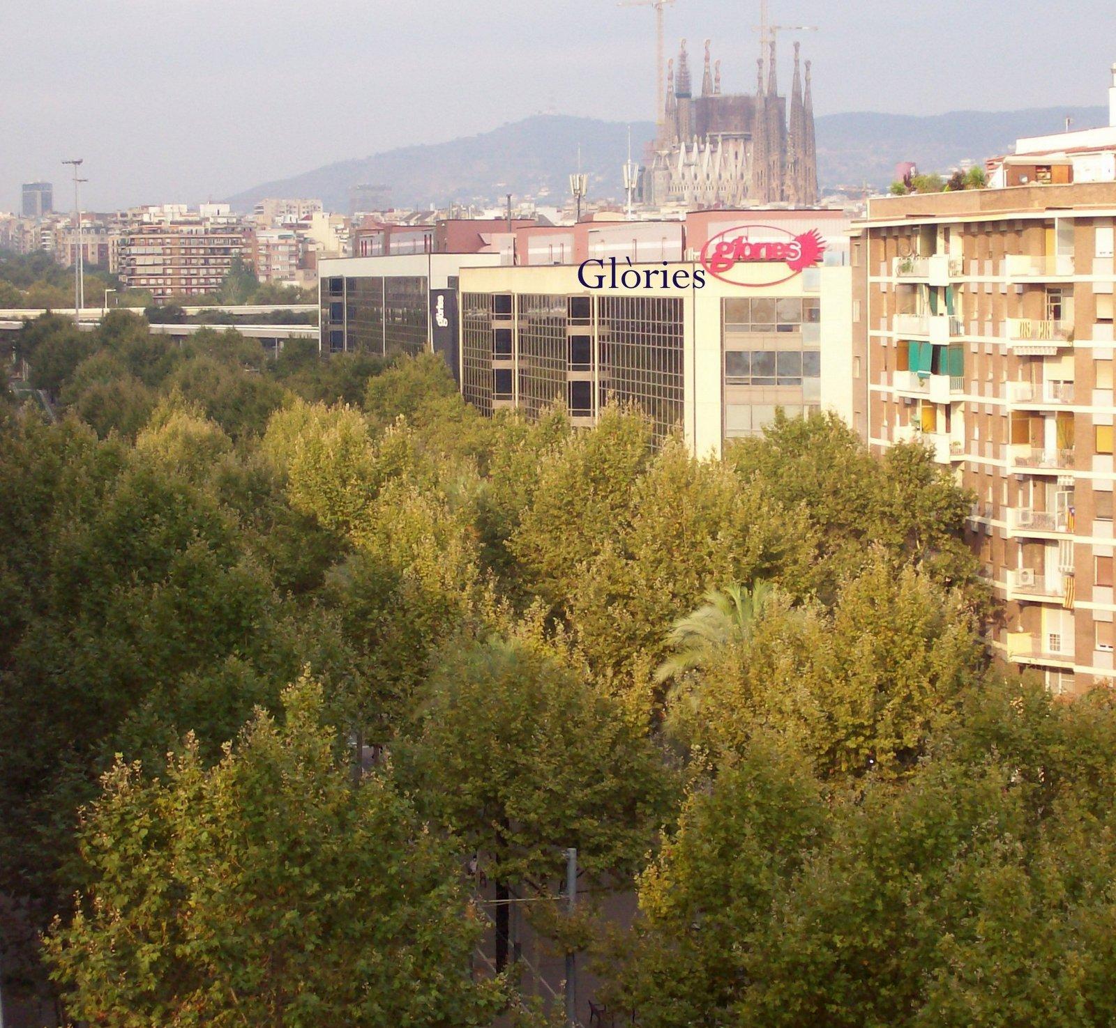 Avenida Diagonal mit Sagrada Familia