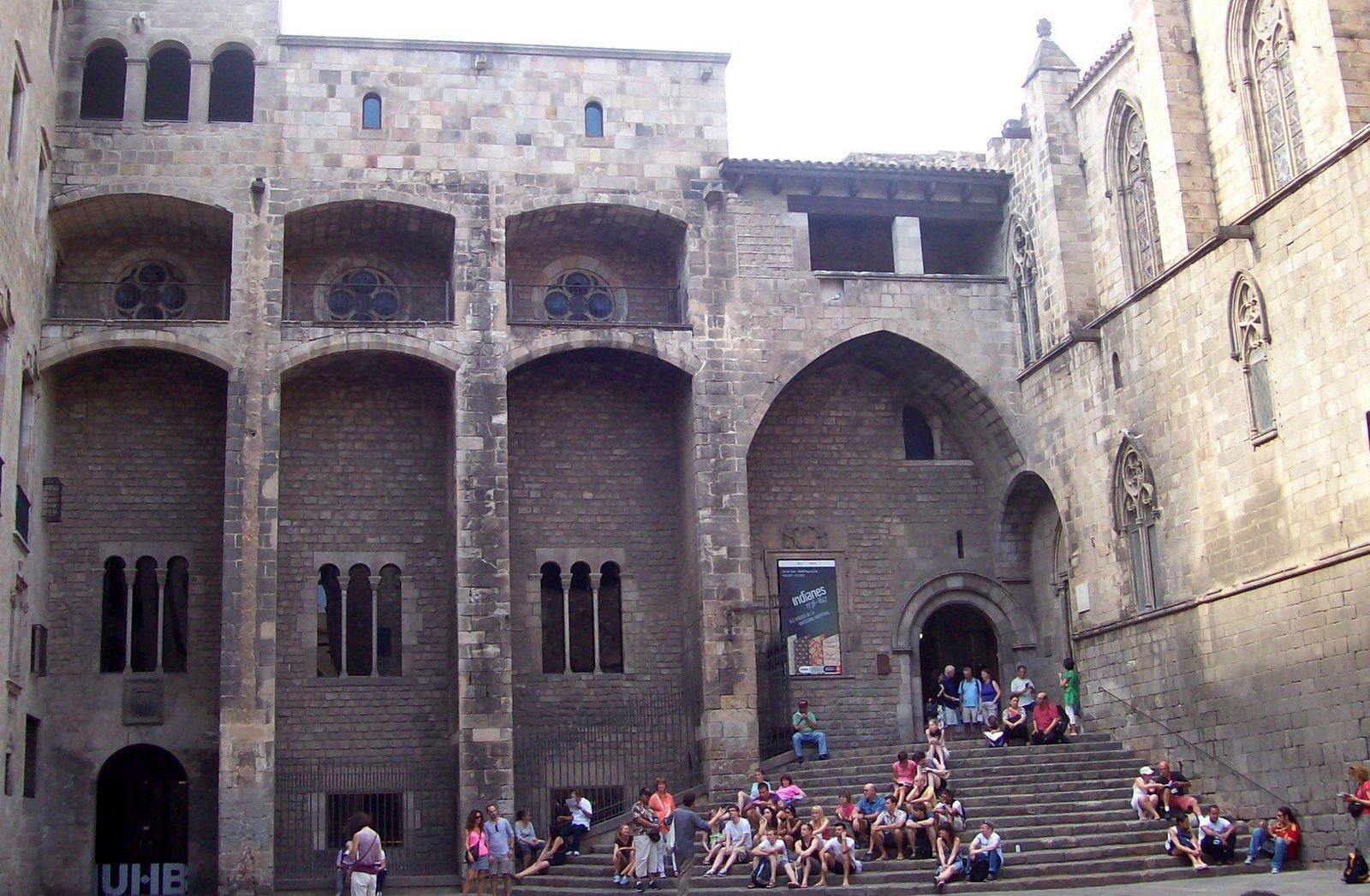 Placa del Rei Barcelona
