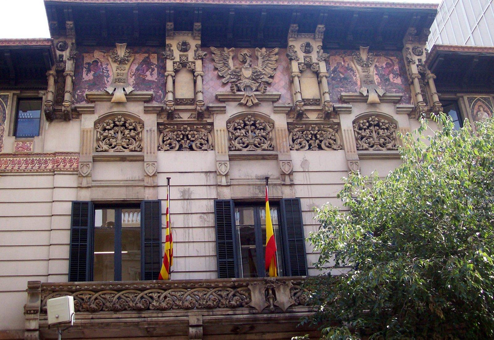 Palau Ramón de Montaner Barcelona